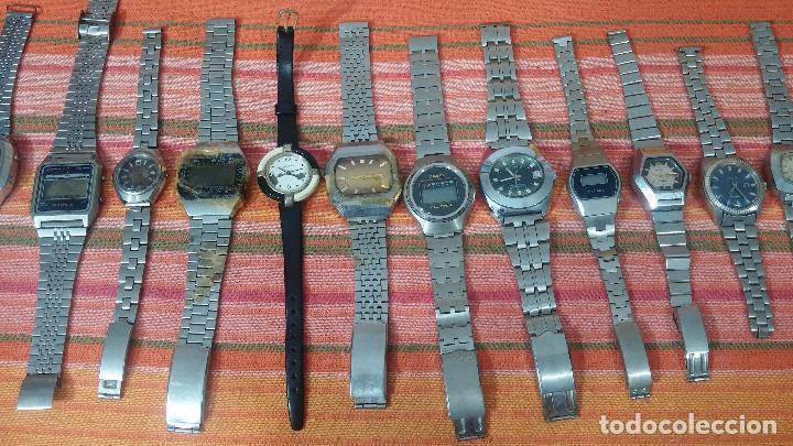 Relojes de pulsera: BOTITO LOTE DE 15 RELOJES VARIADOS, PARA REPARAR O PARA PIEZAS, ALGUNO FUNCIONA - Foto 4 - 83575164