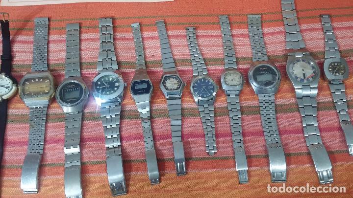 Relojes de pulsera: BOTITO LOTE DE 15 RELOJES VARIADOS, PARA REPARAR O PARA PIEZAS, ALGUNO FUNCIONA - Foto 6 - 83575164