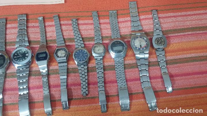 Relojes de pulsera: BOTITO LOTE DE 15 RELOJES VARIADOS, PARA REPARAR O PARA PIEZAS, ALGUNO FUNCIONA - Foto 7 - 83575164