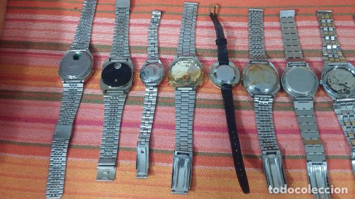 Relojes de pulsera: BOTITO LOTE DE 15 RELOJES VARIADOS, PARA REPARAR O PARA PIEZAS, ALGUNO FUNCIONA - Foto 9 - 83575164