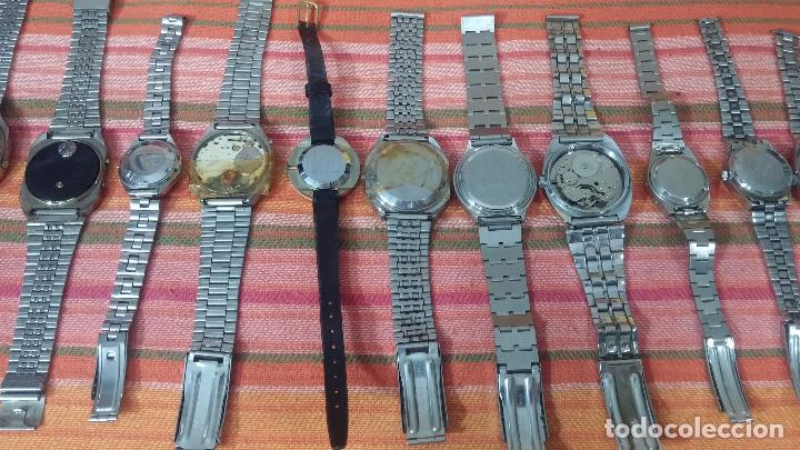 Relojes de pulsera: BOTITO LOTE DE 15 RELOJES VARIADOS, PARA REPARAR O PARA PIEZAS, ALGUNO FUNCIONA - Foto 10 - 83575164