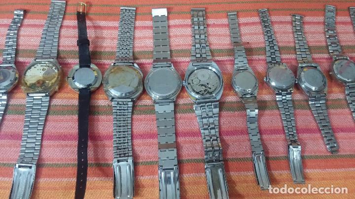 Relojes de pulsera: BOTITO LOTE DE 15 RELOJES VARIADOS, PARA REPARAR O PARA PIEZAS, ALGUNO FUNCIONA - Foto 11 - 83575164