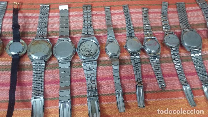 Relojes de pulsera: BOTITO LOTE DE 15 RELOJES VARIADOS, PARA REPARAR O PARA PIEZAS, ALGUNO FUNCIONA - Foto 12 - 83575164