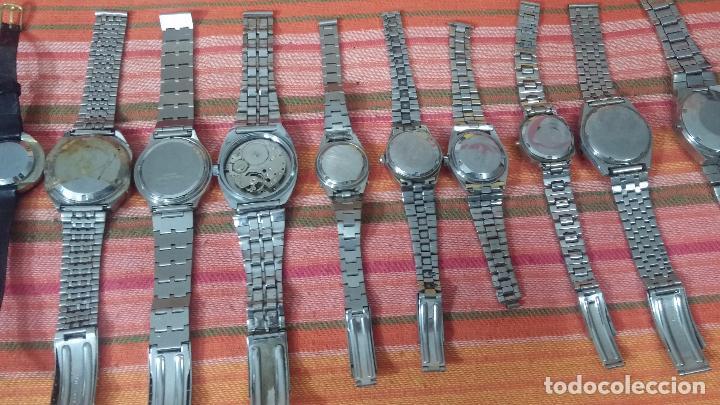 Relojes de pulsera: BOTITO LOTE DE 15 RELOJES VARIADOS, PARA REPARAR O PARA PIEZAS, ALGUNO FUNCIONA - Foto 13 - 83575164