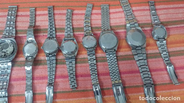 Relojes de pulsera: BOTITO LOTE DE 15 RELOJES VARIADOS, PARA REPARAR O PARA PIEZAS, ALGUNO FUNCIONA - Foto 14 - 83575164