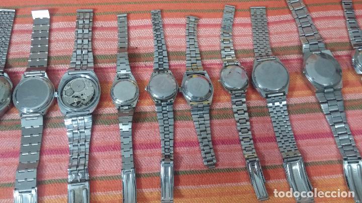 Relojes de pulsera: BOTITO LOTE DE 15 RELOJES VARIADOS, PARA REPARAR O PARA PIEZAS, ALGUNO FUNCIONA - Foto 15 - 83575164