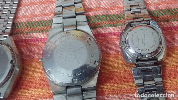 Relojes de pulsera: BOTITO LOTE DE 15 RELOJES VARIADOS, PARA REPARAR O PARA PIEZAS, ALGUNO FUNCIONA - Foto 18 - 83575164