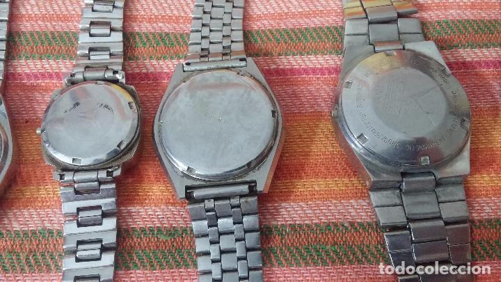 Relojes de pulsera: BOTITO LOTE DE 15 RELOJES VARIADOS, PARA REPARAR O PARA PIEZAS, ALGUNO FUNCIONA - Foto 19 - 83575164