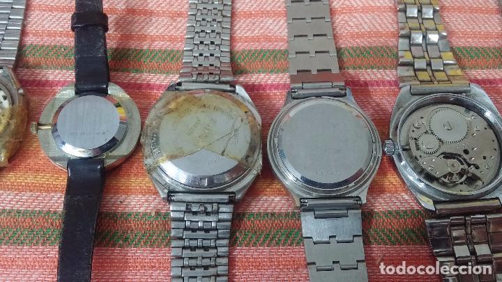Relojes de pulsera: BOTITO LOTE DE 15 RELOJES VARIADOS, PARA REPARAR O PARA PIEZAS, ALGUNO FUNCIONA - Foto 21 - 83575164