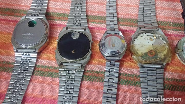 Relojes de pulsera: BOTITO LOTE DE 15 RELOJES VARIADOS, PARA REPARAR O PARA PIEZAS, ALGUNO FUNCIONA - Foto 22 - 83575164