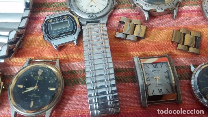 Relojes de pulsera: BOTITO LOTE DE 35 RELOJES VARIADOS, PARA REPARAR O PARA PIEZAS, ALGUNO FUNCIONA - Foto 11 - 83580136