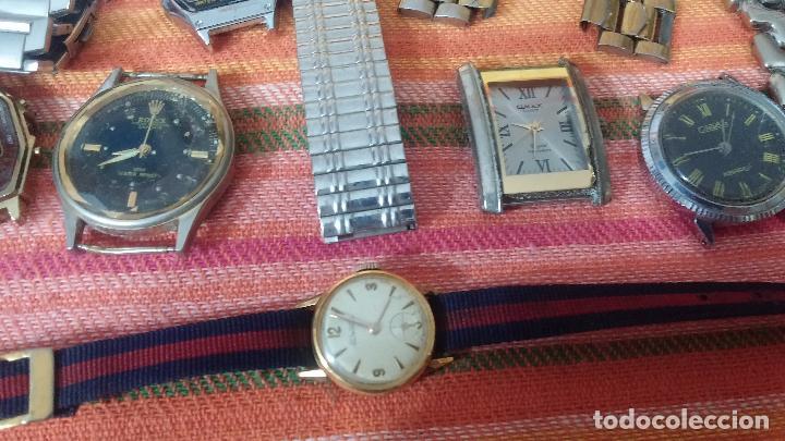 Relojes de pulsera: BOTITO LOTE DE 35 RELOJES VARIADOS, PARA REPARAR O PARA PIEZAS, ALGUNO FUNCIONA - Foto 12 - 83580136