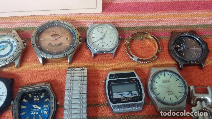 Relojes de pulsera: BOTITO LOTE DE 35 RELOJES VARIADOS, PARA REPARAR O PARA PIEZAS, ALGUNO FUNCIONA - Foto 14 - 83580136