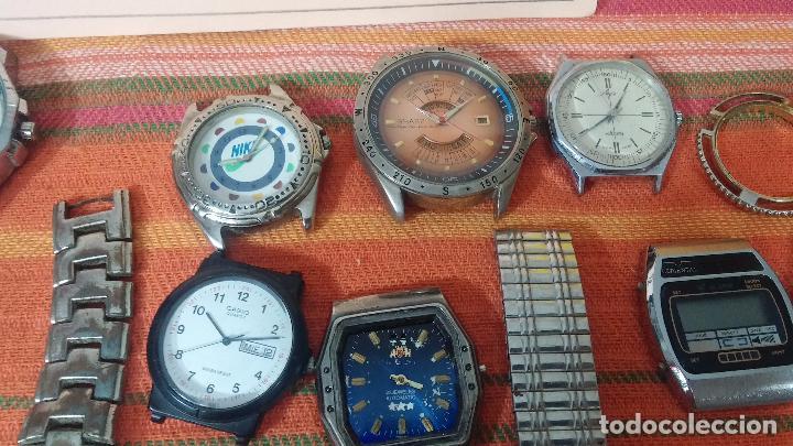 Relojes de pulsera: BOTITO LOTE DE 35 RELOJES VARIADOS, PARA REPARAR O PARA PIEZAS, ALGUNO FUNCIONA - Foto 15 - 83580136