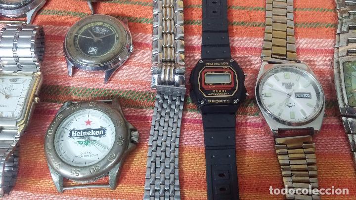 Relojes de pulsera: BOTITO LOTE DE 35 RELOJES VARIADOS, PARA REPARAR O PARA PIEZAS, ALGUNO FUNCIONA - Foto 16 - 83580136