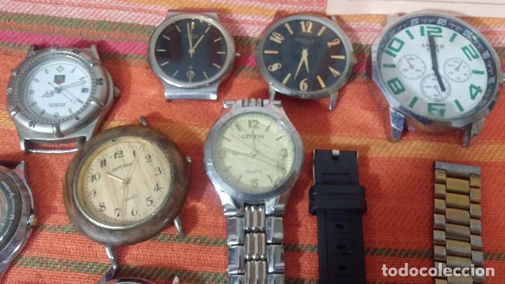 Relojes de pulsera: BOTITO LOTE DE 35 RELOJES VARIADOS, PARA REPARAR O PARA PIEZAS, ALGUNO FUNCIONA - Foto 18 - 83580136