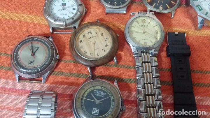 Relojes de pulsera: BOTITO LOTE DE 35 RELOJES VARIADOS, PARA REPARAR O PARA PIEZAS, ALGUNO FUNCIONA - Foto 19 - 83580136