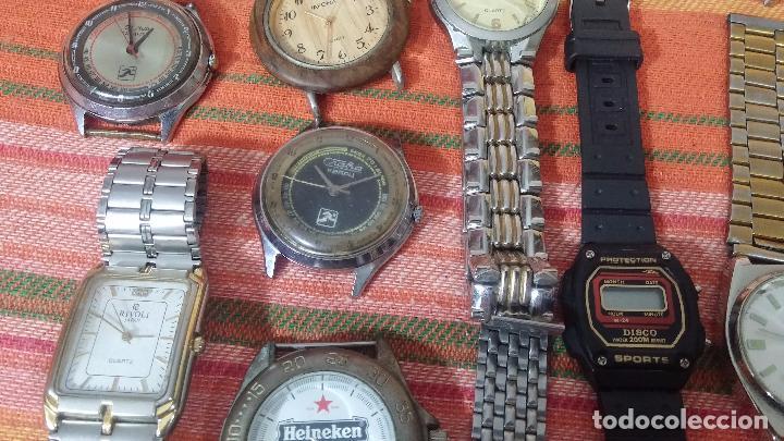 Relojes de pulsera: BOTITO LOTE DE 35 RELOJES VARIADOS, PARA REPARAR O PARA PIEZAS, ALGUNO FUNCIONA - Foto 20 - 83580136