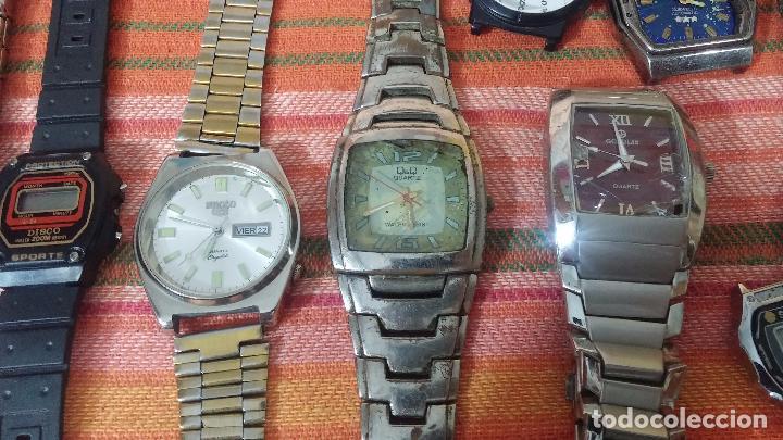 Relojes de pulsera: BOTITO LOTE DE 35 RELOJES VARIADOS, PARA REPARAR O PARA PIEZAS, ALGUNO FUNCIONA - Foto 21 - 83580136