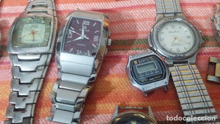 Relojes de pulsera: BOTITO LOTE DE 35 RELOJES VARIADOS, PARA REPARAR O PARA PIEZAS, ALGUNO FUNCIONA - Foto 22 - 83580136