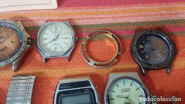 Relojes de pulsera: BOTITO LOTE DE 35 RELOJES VARIADOS, PARA REPARAR O PARA PIEZAS, ALGUNO FUNCIONA - Foto 24 - 83580136