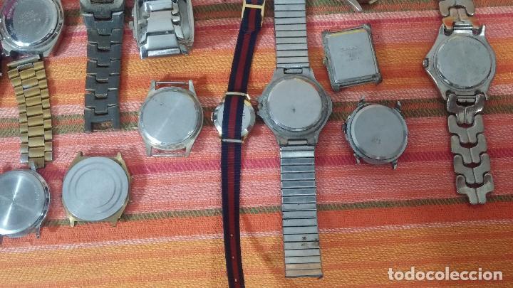 Relojes de pulsera: BOTITO LOTE DE 35 RELOJES VARIADOS, PARA REPARAR O PARA PIEZAS, ALGUNO FUNCIONA - Foto 27 - 83580136