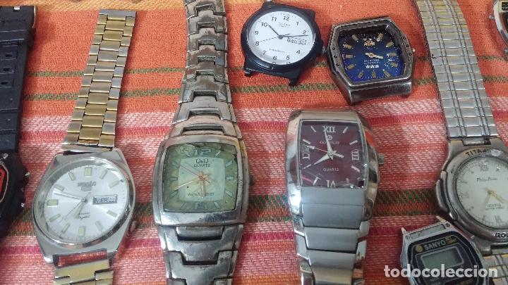 Relojes de pulsera: BOTITO LOTE DE 35 RELOJES VARIADOS, PARA REPARAR O PARA PIEZAS, ALGUNO FUNCIONA - Foto 33 - 83580136