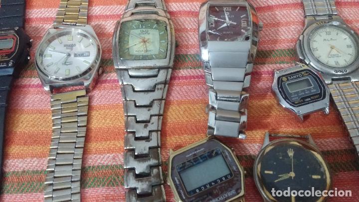 Relojes de pulsera: BOTITO LOTE DE 35 RELOJES VARIADOS, PARA REPARAR O PARA PIEZAS, ALGUNO FUNCIONA - Foto 34 - 83580136