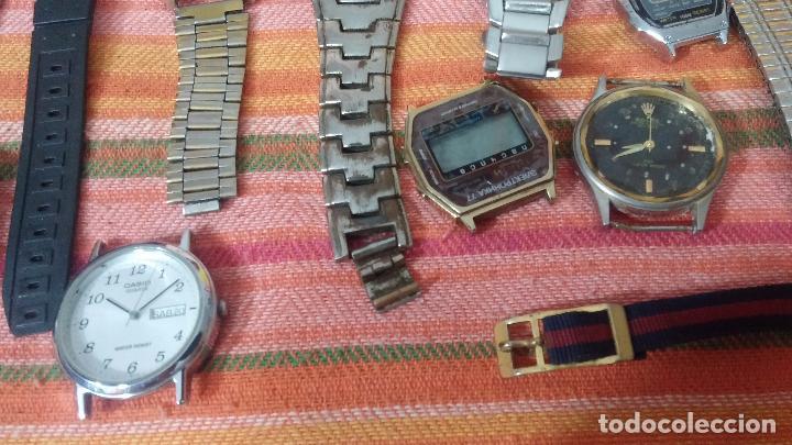 Relojes de pulsera: BOTITO LOTE DE 35 RELOJES VARIADOS, PARA REPARAR O PARA PIEZAS, ALGUNO FUNCIONA - Foto 35 - 83580136