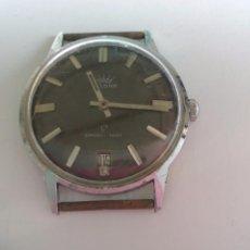 Relojes de pulsera: RELOJ DE PULSERA, DE CUERDA, VELONA. DE LOS AÑOS 70 SHOCKPROOF. ANTIMAGNETIC,STAINLESS STEEL BACK. Lote 84172132