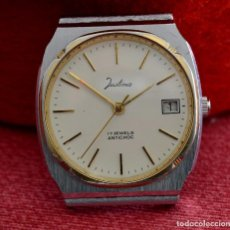 Relojes de pulsera: RELOJ DE PULSERA JUSTINA , CUERDA, VINTAGE, 17 RUBÍS. Lote 84503508