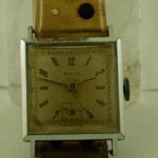 Relojes de pulsera: ROCK MECANICO CUADRADO CLASICO. Lote 84623628