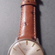 Relojes de pulsera: ANTIGUO RELOJ DE PULSERA LONGINES SWISS MADE CAJA DE ACERO - PARADO , PRECISA REPASO 4X3,8 CM. . Lote 84727272