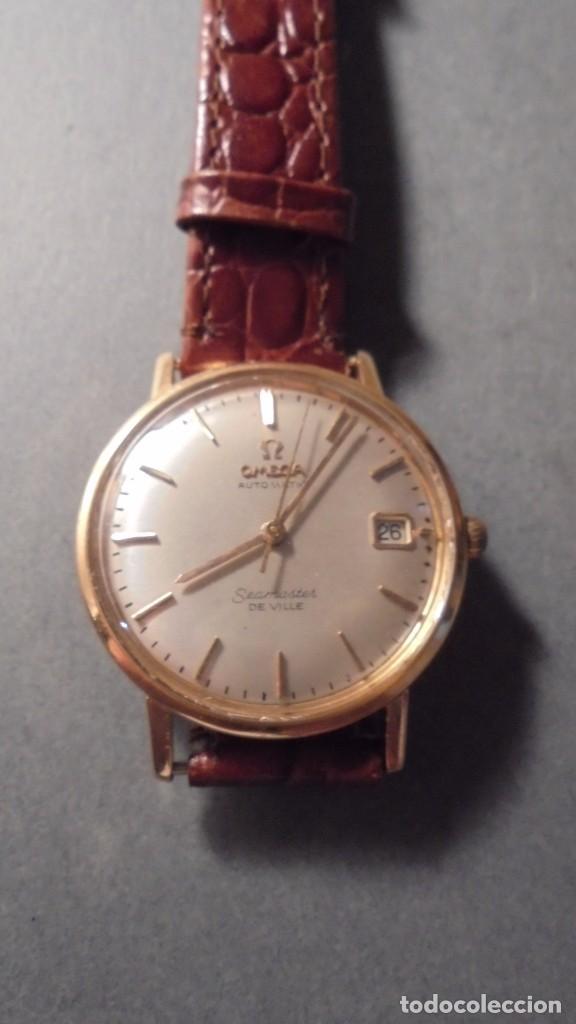 antiguo reloj omega automatic seamaster de vill - Comprar