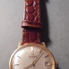 Relojes de pulsera: ANTIGUO RELOJ OMEGA AUTOMATIC SEAMASTER DE VILLE DE ORO 18KL. PERFECTO ESTADO 4,5X3,8 CM. . Lote 84728028