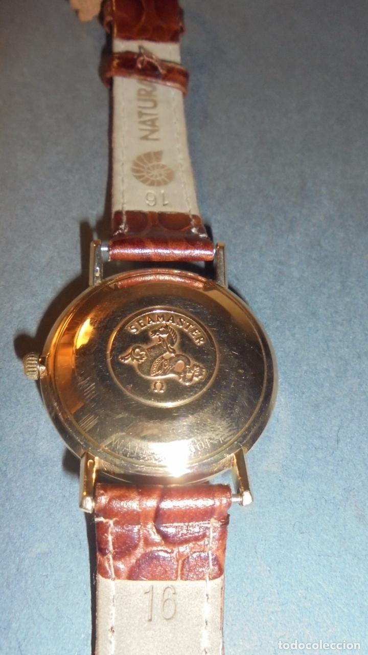 Relojes de pulsera: ANTIGUO RELOJ OMEGA AUTOMATIC SEAMASTER DE VILLE DE ORO 18KL. PERFECTO ESTADO 4,5X3,8 CM. - Foto 2 - 84728028