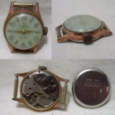 Relojes de pulsera: POTENS. ANTIGUO RELOJ SUIZO. PLAQUE ORO.. Lote 84981544
