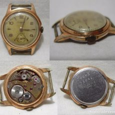 Relojes de pulsera: COLGOR. 17 RUBIS. ANTIGUO RELOJ SUIZO. PLAQUE ORO.. Lote 84982508