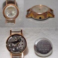Relojes de pulsera: LANZIA. 17 RUBÍS. ANTIGUO RELOJ SUIZO. PLAQUE ORO.. Lote 84984676
