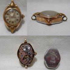Relojes de pulsera: RADIANT. ANTIGUO RELOJ SUIZO. 19 RUBÍS. PLAQUE ORO 20 MICRONS. Lote 84985784