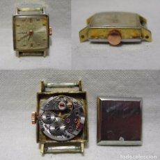 Relojes de pulsera: DURSAN GENEVE. 17 JEWELS. ANTIGUO RELOJ SUIZO. PLAQUE ORO.. Lote 84988228