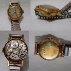 Relojes de pulsera: ANTIGUO RELOJ SUIZO. 15 JEWELS. CHAPADO EN ORO.. Lote 84990860