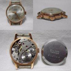 Relojes de pulsera: RADIANT. 15 RUBÍS. ANTIMAGNETIC. ANTIGUO RELOJ SUIZO. PLAQUE ORO.. Lote 84992376