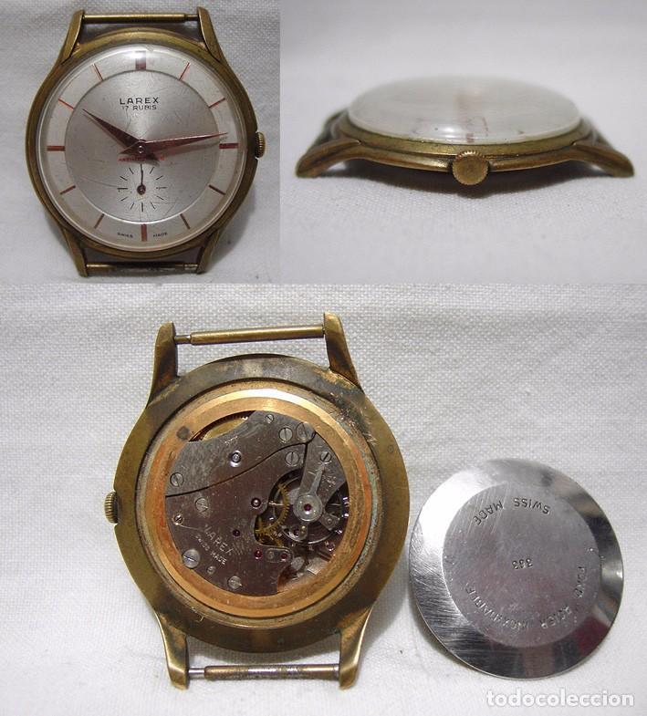 e639bbf61856 Larex. antiguo reloj suizo. 17 rubís. antimagne - Vendido en Venta ...