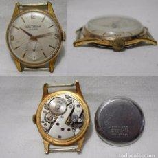 Relojes de pulsera: CLER WATCH. ANTIGUO RELOJ SUIZO. 15 RUBÍS. ANTIMAGNETIC. PLAQUE ORO.. Lote 85728848