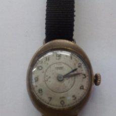 Relojes de pulsera: ANTIGUO RELOJ CAUNY DE MUJER. Lote 85732904