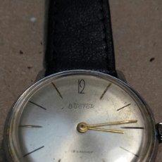 Relojes de pulsera: RELOJ ANTIGUO DE CUERDA BOCTOK 18 RUBIS RUSO FUNCIONANDO. Lote 118386082