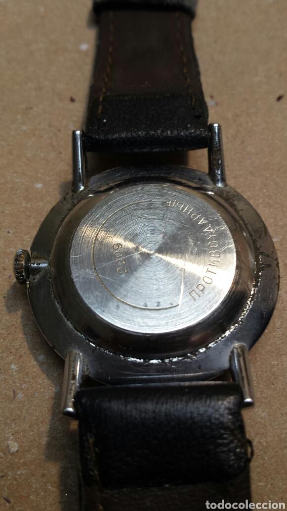 Relojes de pulsera: Reloj Antiguo de cuerda Boctok 18 Rubis Ruso funcionando - Foto 2 - 118386082