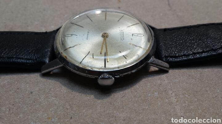 Relojes de pulsera: Reloj Antiguo de cuerda Boctok 18 Rubis Ruso funcionando - Foto 3 - 118386082