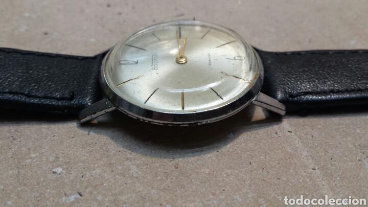 Relojes de pulsera: Reloj Antiguo de cuerda Boctok 18 Rubis Ruso funcionando - Foto 4 - 118386082